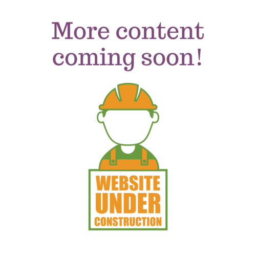 More content coming soon! Website under construction
